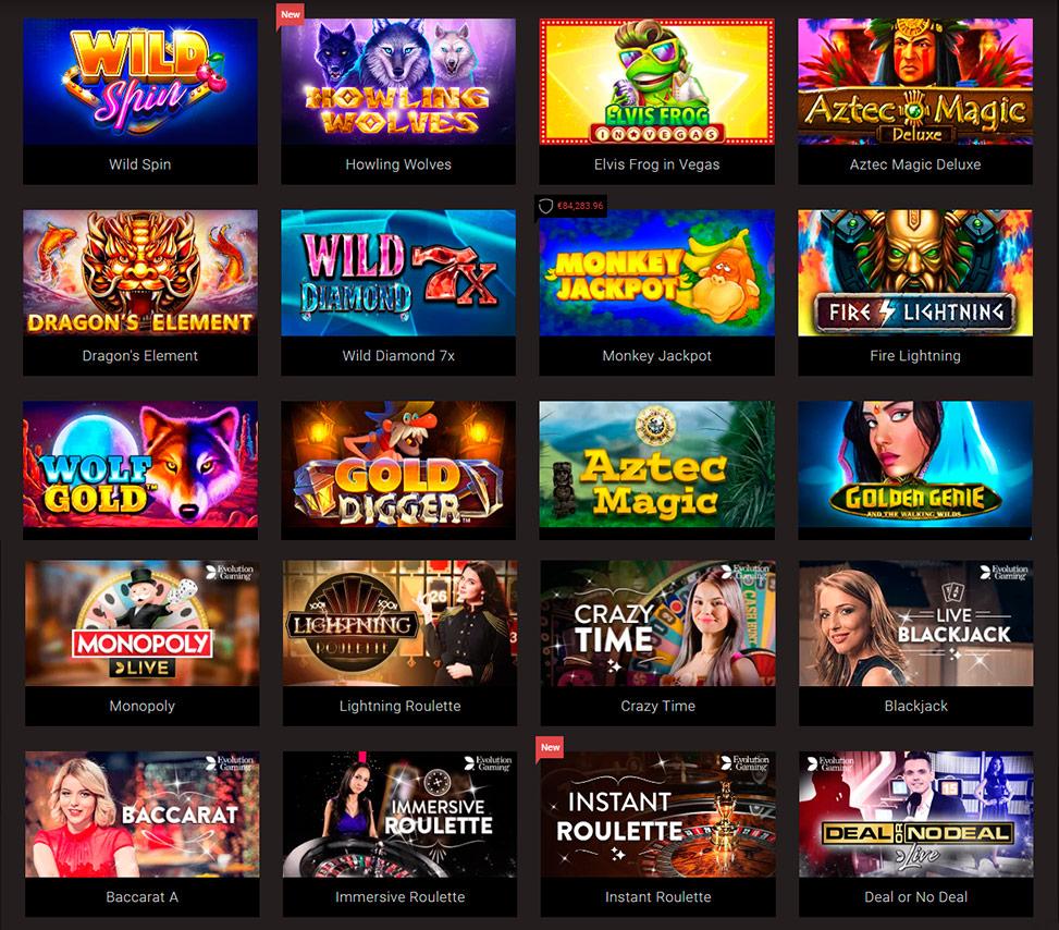Casino big winnings